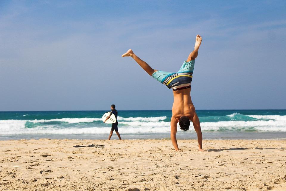 Denizde Spor Egzersizleri