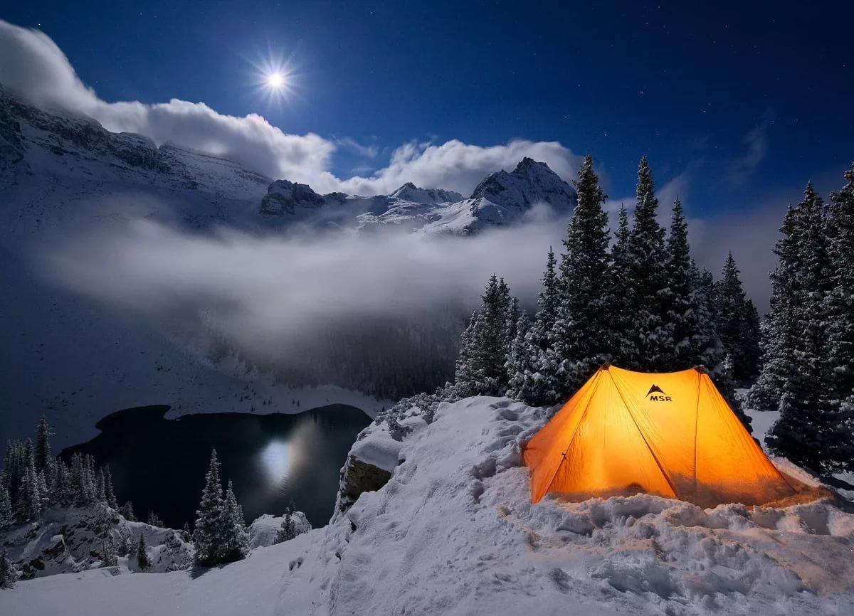Kışın Kamp Yapmanın Püf Noktası; Sıcak Kalmak