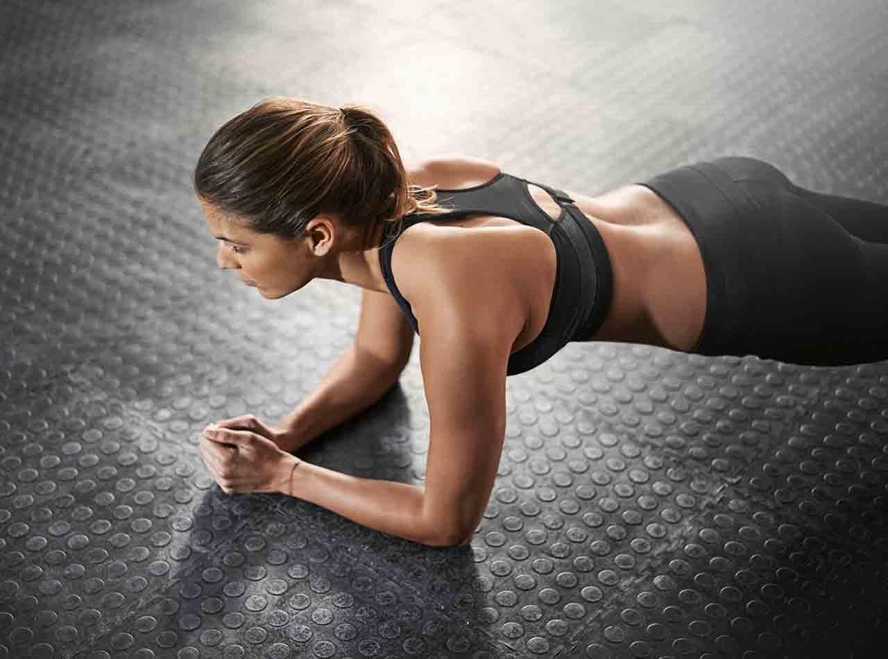 Plank Deyip GeçmeTahta Egzersizi