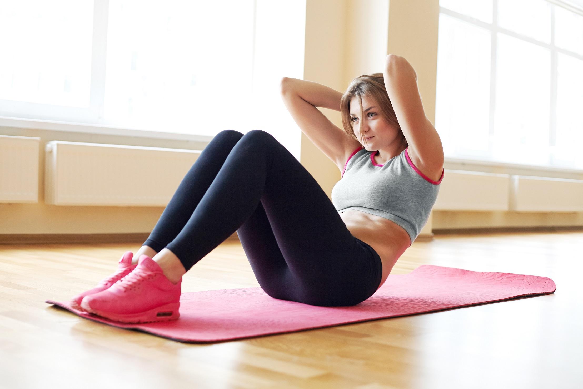 Göbek Yağlarını Eritmek İçin Egzersizler