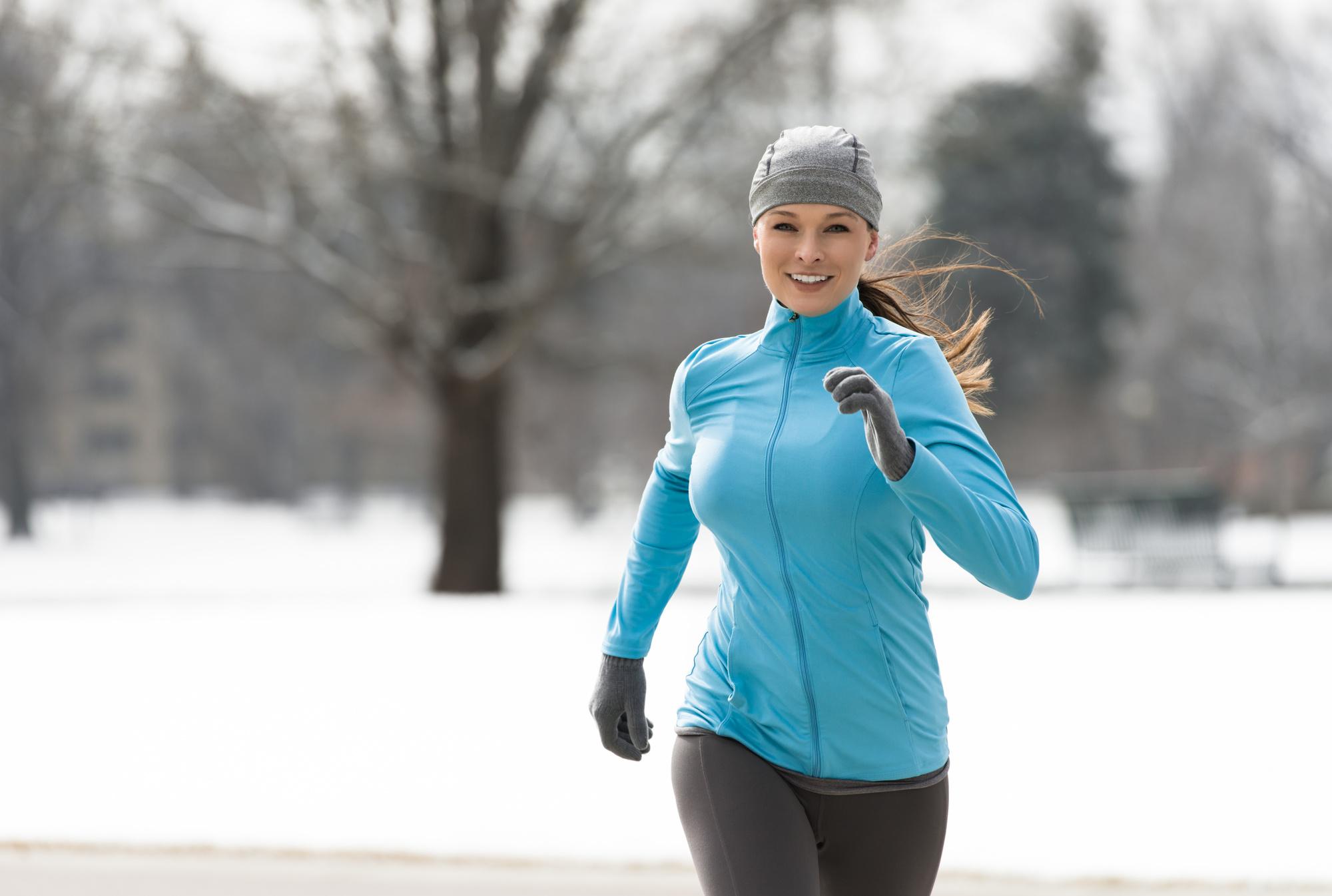 Kış Geldi Diye Koşuyu Bırakma!