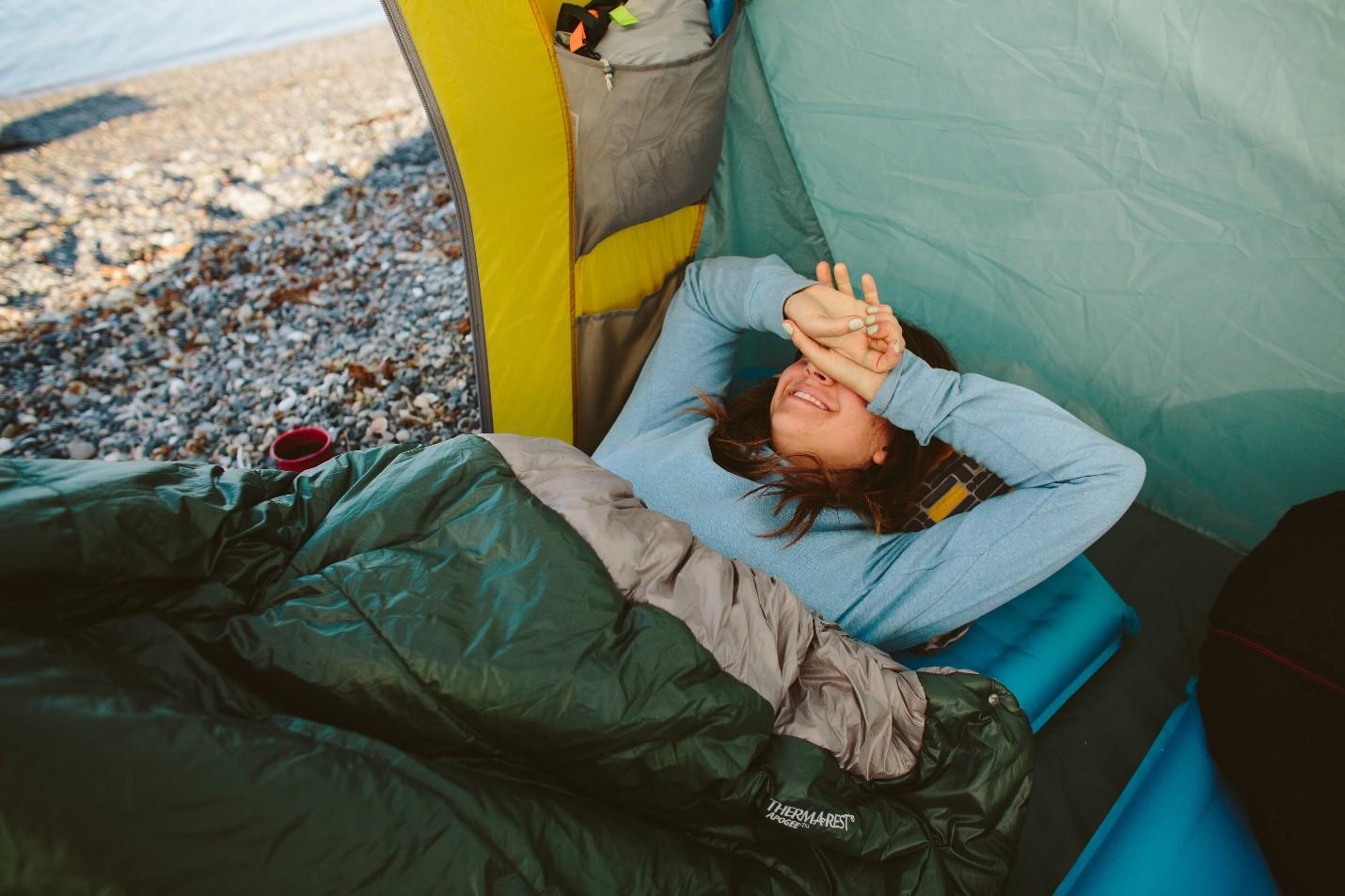 Çadırda nasıl uyunur