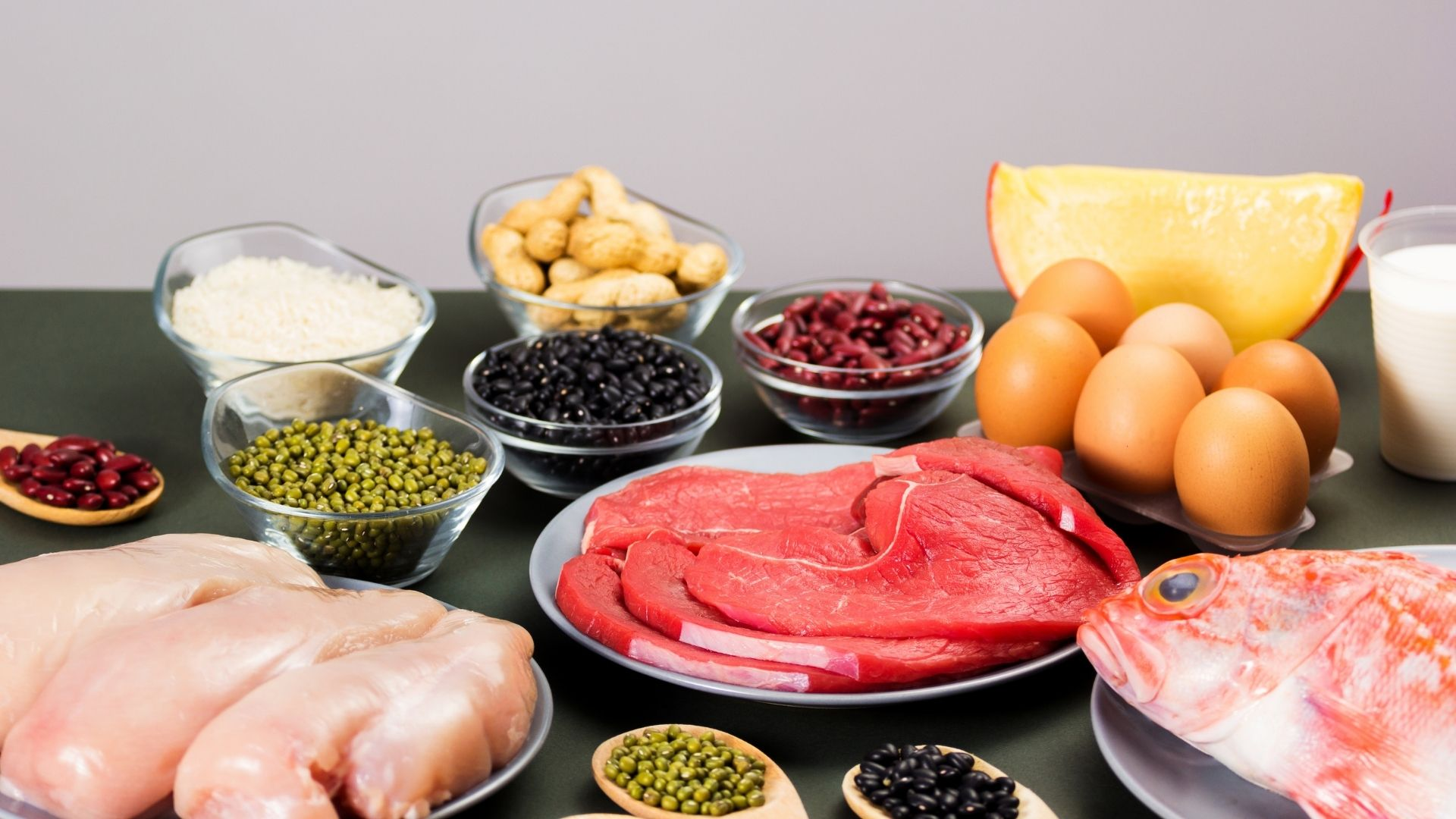 Protein Deposu Olan Besinler